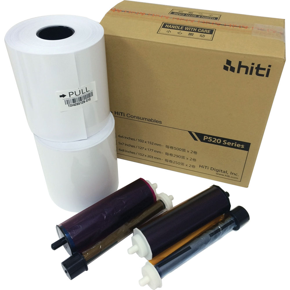 Hiti 520L Media Kit (Paper & Ink)
